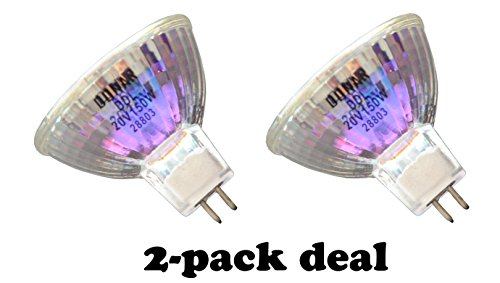 2pcs DDL 20V 150W Donar Bulb for Canon MICROFILM SCANNER MS300 , MS300 II , MS400 MS500 MH7-3035 MS350 MS800 Micrographics Halogen Lamp FP 400 – OHMEDA 6 BILIBLANKET , PHOTO TERAPHY II