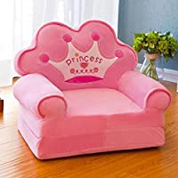 Elitehome PNP Imported Princess Soft Toy Shape Sitting Sofa Cum Bed/Chair for Kids