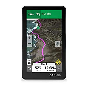 Garmin zūmo XT, All-Terrain Motorcycle GPS Navigation Device, 5.5-inch Ultrabright and Rain-Resistant Display
