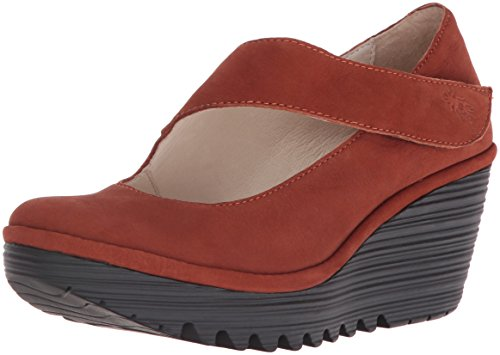 Fly London Womens Yasi682fly Wedge Pump Tegel Cupido
