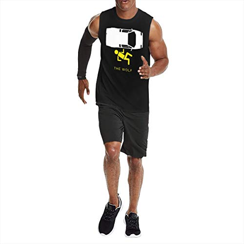 The Wolf of Wall Street Men's Sleeveless T-Shirt L Black