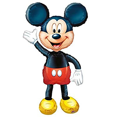 Anagram International Mickey Mouse Air Walker, Multi-Color: Toys & Games
