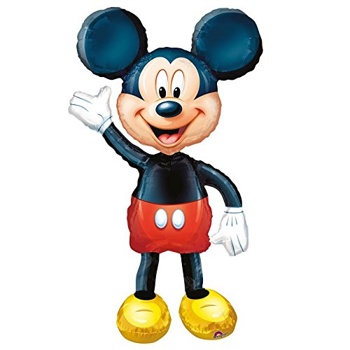 Anagram International Mickey Mouse Air Walker, Multi-Color