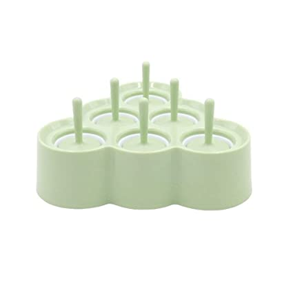GXju- Ice Tray Chang-dq Mini moldes de estallido, 6 moldes ...