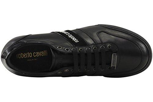 Roberto Cavalli Mens Versione B Svarta Gymnastikskor
