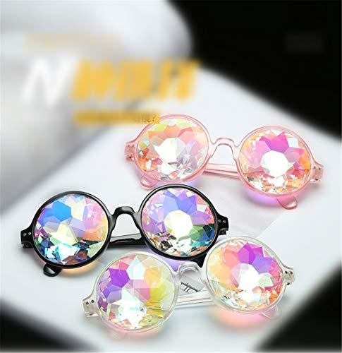 De Gafas Cool Match Sol Gafas Gafas Sol De De Ropa Psicodélico Party GOFIVE Dance Caleidoscopio Noche q7nTW6WE