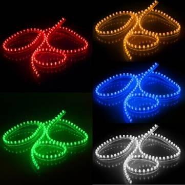 120 cm tira Acuario Pecera Luz sumergible resistente al agua: Amazon.es: Iluminación