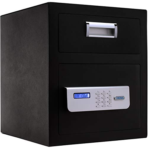 (Viking Security Safe VS--40DS Depository Safe Keypad)