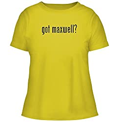 Bh Cool Designs Got Maxwell Cute Women S Graphic Tee Yellow X Large