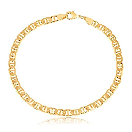 03effe6dd97e7 Amazon.com: SGS International Gold Plated Gold Gucci-Link Anklet ...