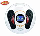 Foot Circulation Stimulator - Electrical Nerve Muscles Stimulation for Feet & Legs - Medic Electric Pulse Foot Massager Machine for Neuropathy Diabetic Cramps - TENS Therapy Devices to Relieve Pain