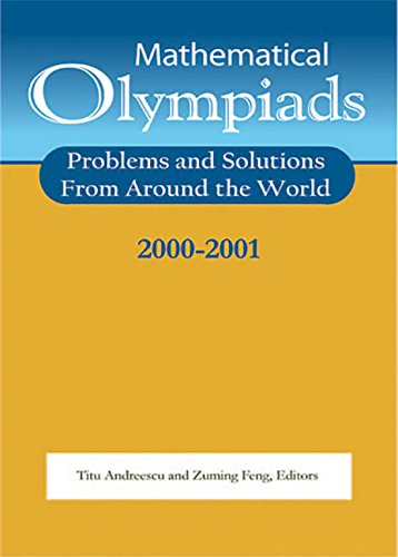 Mathematical Olympiads 2000-2001 (MAA Problem Book Series)