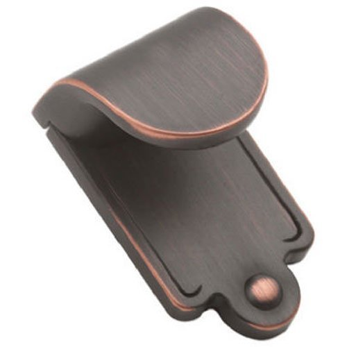 Amerock BP1593ORB Inspirations Finger Pull, Oil Rubbed Bronze, 1-7/8-Inch Length by ()
