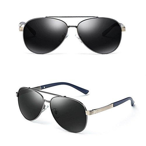 sol de de sol conducir A Gafas de Protección para sol Gafas Gafas sombrillas de Gafas A hombre Aviator Gafas polarizadas sol para SSSX de 100 sol Color UV400 0gFWYv
