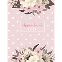 """Appointment Book: 2019 Daily Appointment Book, 2019 Calendar Year Planner, Monthly Weekly Planner, Undated Appointment Book, 15-Minute Increments, Daily and Hourly Schedule Notebook for Salons, Massage Spas, Nails, Hairdressers Or Businesses, 8-1/2"""" x 11"""" Large"""
