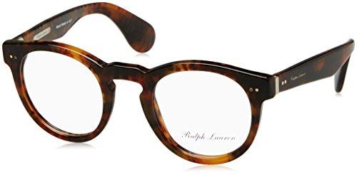 Ralph Lauren RL6149P Eyeglass Frames 5017-46 - 46mm Lens Diameter Jerry Havana - Lauren Glasses For Men Ralph Frames