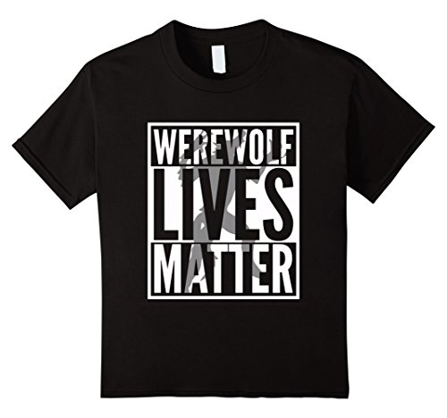 Kids Funny Halloween Costume Ideas 2017 Werewolf Shirt 10 Black