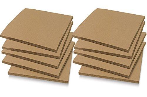 Soft Cut Linoleum Set -10 Pack Printmaking Carving sheet Block Printing sheets Art Studio / Class Pack Easy to Carve Wonder Plate (3