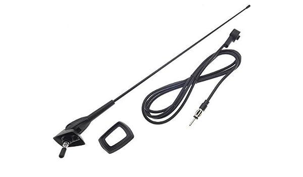 Antena de techo Universal 0-90° ajustable barras de casquillo de cable de coche autobús de coche: Amazon.es: Electrónica