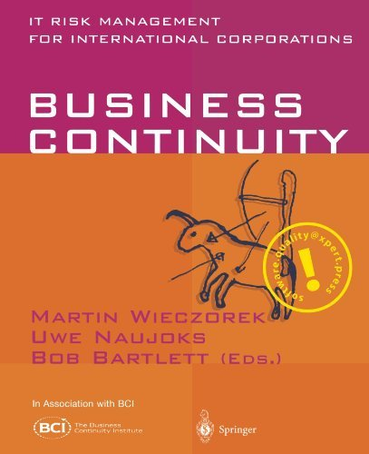 Download Business Continuity: IT Risk Management for International Corporations Pdf