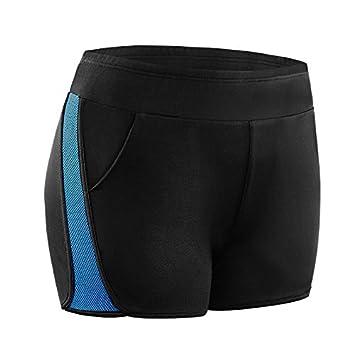 MAYUAN520 Yoga Shorts Mujer compresión ejecutando ...