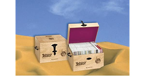 Caja estuche Asterix castellano: Salvat: 9788421686300 ...