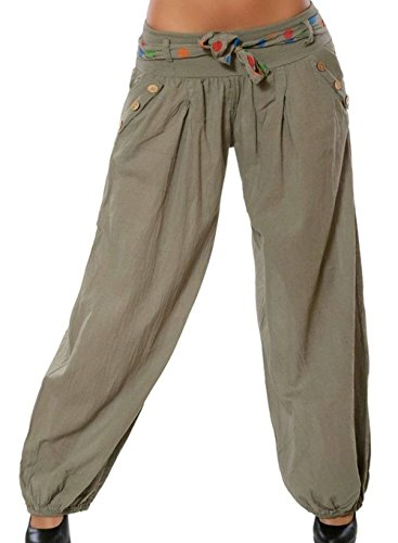 Pluderhose Donna Estivi Di Inclusa Lanterna Classiche Hippie Casuali Unique Hipster Harem Eleganti Pantaloni Khaki Baggy Donne Aladin Cintura Vintage Fashion Pantaloni Pantaloni Pantaloni U4qpEwAq