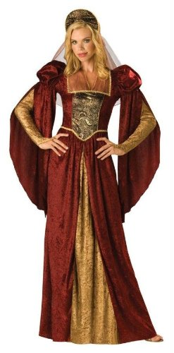 Renaissance Maiden Costume - Medium - Dress Size 6-10