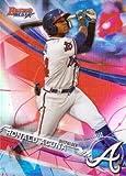 #5: 2017 Bowman's Best Top Prospects Refractor #TP-10 Ronald Acuna Baseball Card