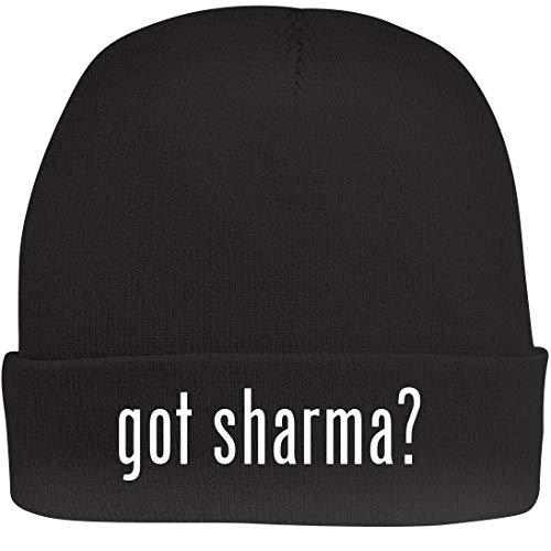 Shirt Me Up got Sharma? - A Nice Beanie Cap, Black, OSFA ()
