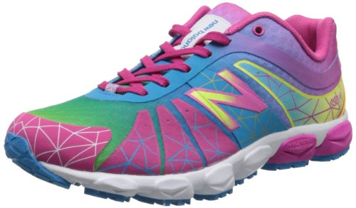 New Balance KJ890 Pre Running Shoe ,Neon Rainbow,11 W US Lit