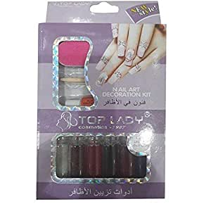Top Lady Nail Art Decoration Kit