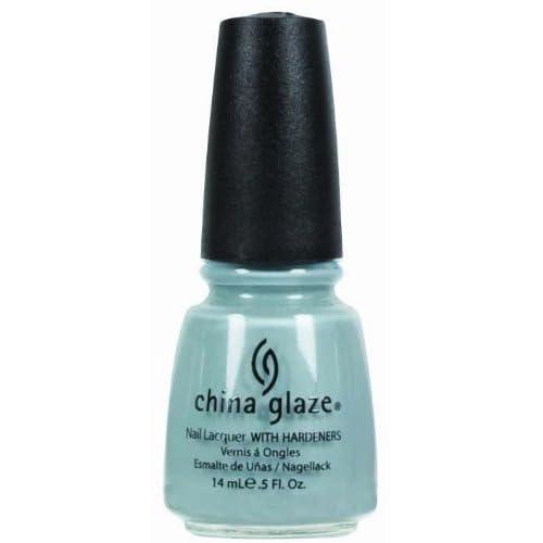 China Glaze Nail Polish, Sea Spray, 0.5 Fluid Ounce