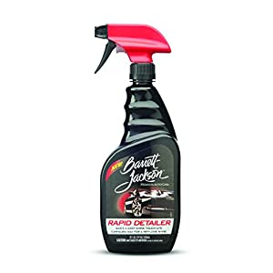 Barrett-Jackson Rapid Car Detailing Spray, Contains Carnauba Wax - Spray on and Wipe Off for Easy Car Care and Quick Car Cleaning, 9951, 22 oz.