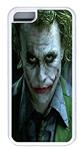 iPhone 5C Cases & Covers VUTTOO Joker 5 Custom TPU Soft Case Cover Protector for iPhone 5C ¡§C White