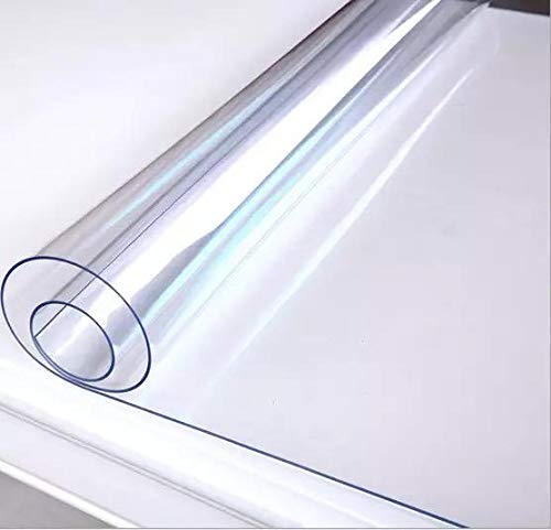 Soft Glass Table Cover For Rectangle Square Table Pvc Transparent