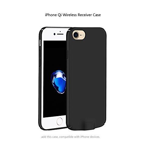 iPhone 7Plus Receiver Case - iPhone 6SPlus Case - iPhone 6Plus Case - Qi Wireless Charger Charging Receiver Case Back Cover for 7 Plus/ 6S Plus/ 6 Plus (5.5inch Case)