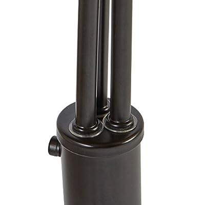 Rivet Modern Adjustable 3-Arm Floor Lamp
