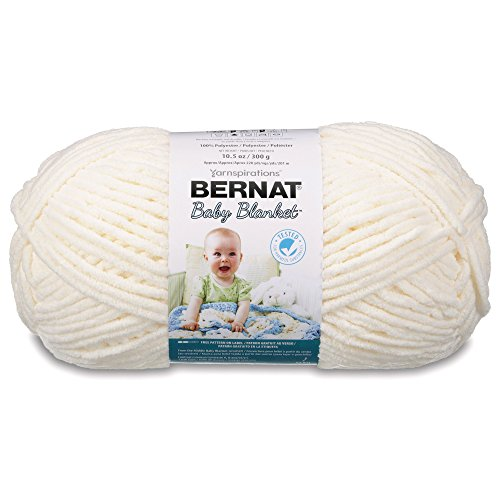 Bernat Baby Blanket Yarn -  Super Bulky Gauge - 10.5 oz - Va