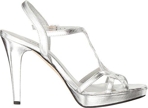 Buckle Sandal Qamar Nappa Silver Women's Dress Silver VANELi Metalllic nqPt8zwxWC
