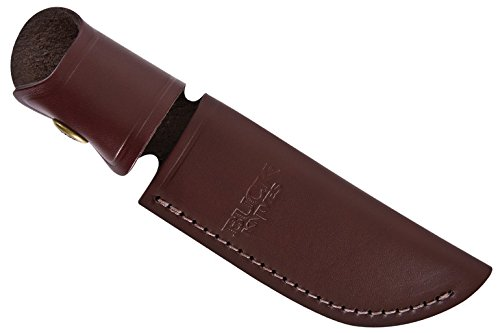 Buck Knives 0103BRS SKINNER Cocobola Dymondwood Fixed Blade Knife with Genuine Leather Sheath -