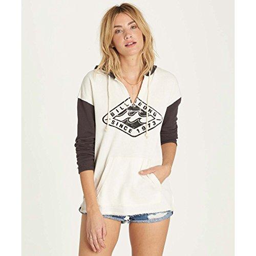 Billabong Black Sweatshirt (Billabong Women's Days Off Fleece, Off Black, L)