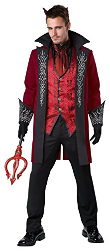 Prince Of Darkness Devil Costumes (Prince of Darkness Adult Costume - Large)