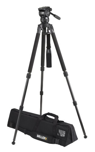 Miller 1831 Compass 15 Solo DV 2 A Tripod (Black) by Miller Camera Support LLC USA