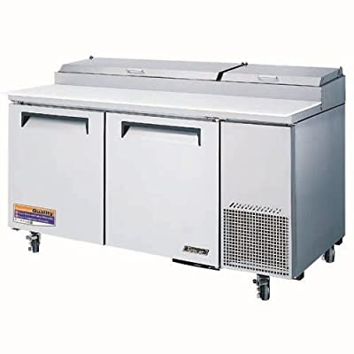 Turbo Air TPR-67SD-D2 Solid Door and Drawer Pizza Prep Table