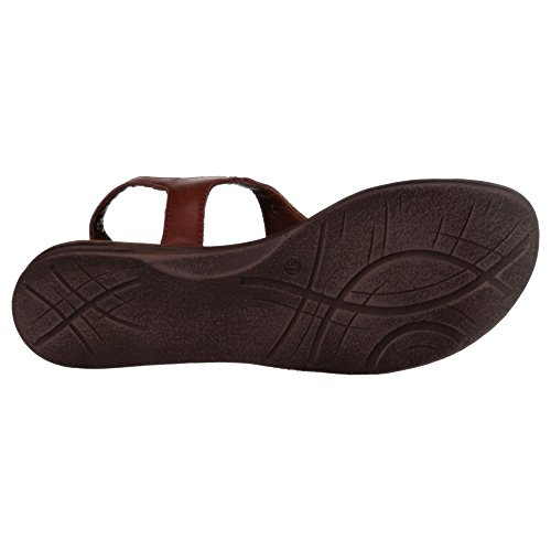 Marco Tozzi - Sandalias de Piel para mujer marrón