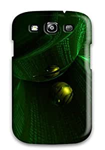 JOepdax1493POQcr Craigmmons Awesome Case Cover Compatible With Galaxy S3 - Cgi 3d Abstract Cgi
