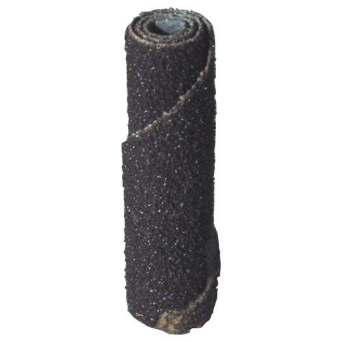 1/2''x1 1/2''x1/4''-60 Grit - Aluminum Oxide - Straight Cartridge Roll (Pack of 100)