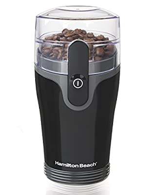 Hamilton Beach Fresh Grind Coffee Grinder (80335R), 1, Black