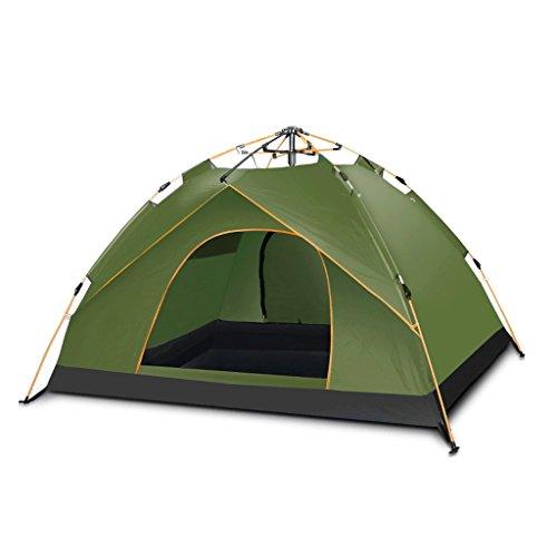 バルセロナ火山のどこTLMY Explorers Fully Automatic Tents野生のキャンプキャンプ テント (サイズ さいず : Green-4)
